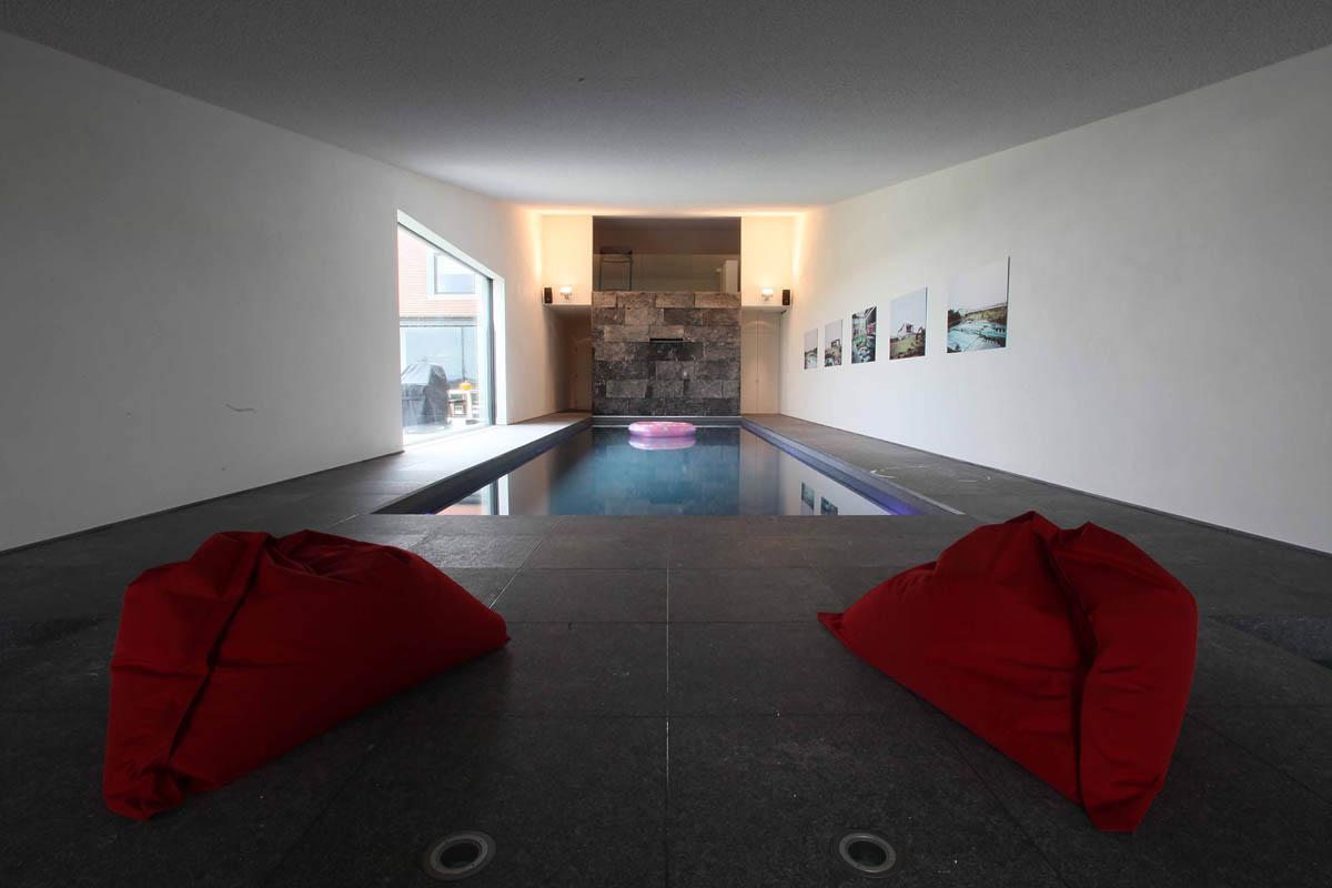 Zwembad Natuursteen vloer tegels